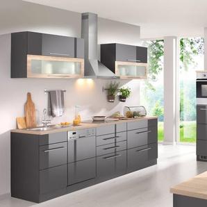 HELD MÖBEL Küchenzeile mit E-Geräten , Breite 350 cm