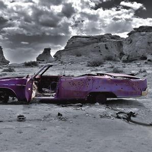 Fototapete »Cadillac«, mehrfarbig, FSC®