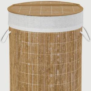 WENKO Wäschetruhe »Bamboo«, Natur, Wäschekorb
