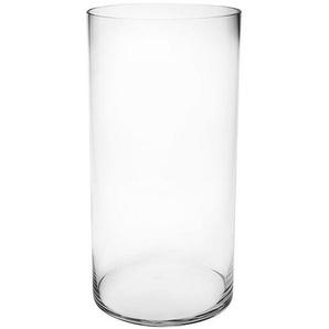 Vase Zylinder, Glas, D:20cm x H:40cm, klar