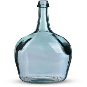 Ballonvase Victoria, Glas, D:27cm x H:38cm, blau
