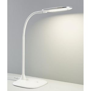 casaNOVA LED Schreibtischlampe BASIC II Weiß