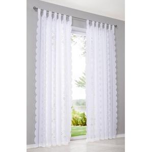 Vorhang (1er Pack) weiß