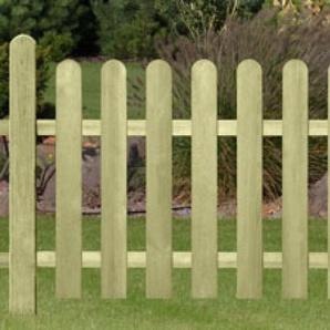 Garten Zaun Sylt / Holz Zaun kdi 180 x 70 cm
