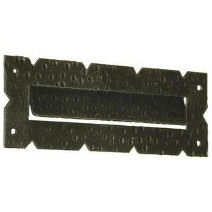 Lorenz Ferart 6020.0Briefkastenschlitz, Schmiedeeisen, basistruktur schwarz Hand, Silber
