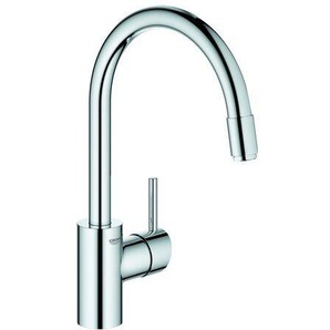 GROHE GROHE EH-SPT-Batterie Concetto 31212ND h.Ausl.GROHE Zero azb. L-brause chrom