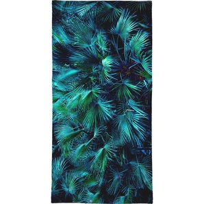 Handtuch »Amoung the Palm Leaves«, Juniqe, Weiche Frottee-Veloursqualität