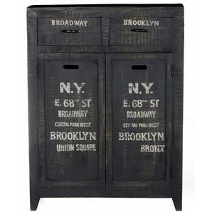 Sit-möbel Kommode »Bronx«, schwarz, pflegeleichte Oberfläche