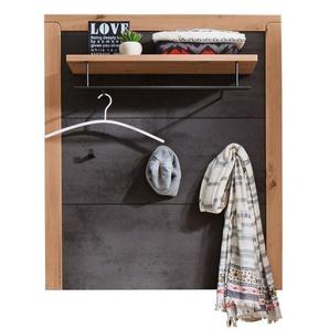 vito Garderobenpaneel 93 x 108 x 28cm Holznachbildung balkeneiche