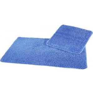 Badgarnitur blau 50 x 50 und 60 x 100 cm