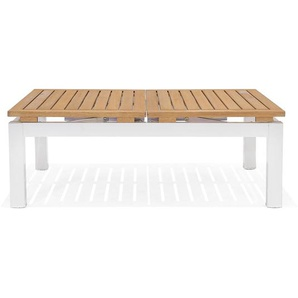 Couchtisch, multifunktional, L:137,4cm x B:95,5cm, Holz Fsc® 100%, weiß