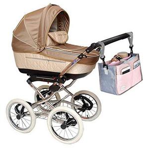 TODAYTOP Kinderwagen Organizer Tasche Kleinkind Produkte Kinderwagen Aufbewahrungstasche Windel Tote Organizer Trolley Zubehör Mummy Bag