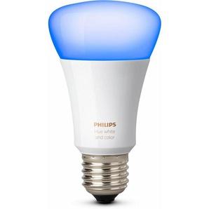 Philips Hue »White & Color Ambiance« LED-Lichtsystem, E27, 1 Stück, Neutralweiß, Tageslichtweiß, Warmweiß, Extra-Warmweiß, Farbwechsler, smartes LED-Lichtsystem mit App-Steuerung