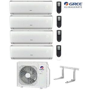 MultiSplit R32 Wifi 2x2,1 + 2x3,5kW Lomo Klimaanlage GREE Inverter Aussen 10,5kW