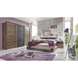 3-tlg. Schlafzimmer-Set Chester, 180 x 200 cm