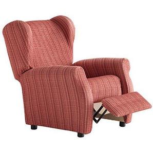 Martina Home Schutzhülle aus elastischem Sessel Relax 32x42x8 cm Burgunderrot