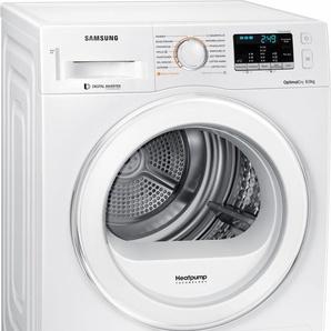 Wärmepumpentrockner DV80M5210IW/EG, weiß, Energieeffizienzklasse: A+++, Samsung