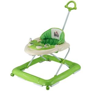 Homcom Babywalker höhenverstellbar grün