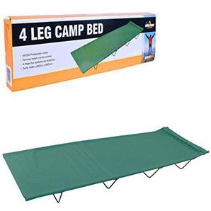 Milestone Camping 4-beiniges Feldbett - Grün