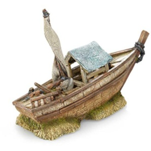 europet bernina Aquariumdekoration Fischerboot-small