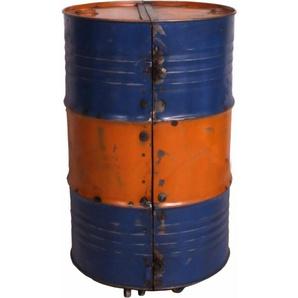 SIT Barschrank »Drumline« aus recycelten Ölfässern, gelb
