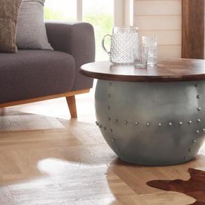 Home Affaire Couchtisch »Swaran«, silber, in Handarbeit gefertigt, FSC®-zertifiziert