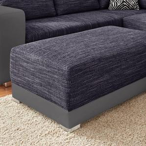 Sit&more Hocker, lila, B/H/T: 96x42x66cm, hoher Sitzkomfort