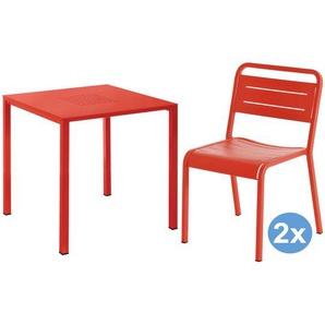 Emu Urban Square Gartenset 80x80 Tisch + 2 Stühle
