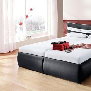 Hapo Polsterbett, schwarz, 100/200 cm