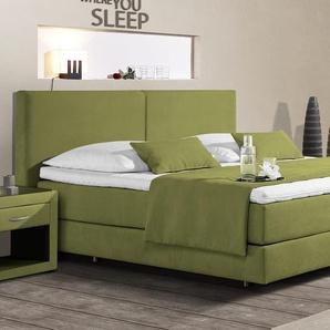 Luxusbett Carrara - 100x200 cm - gelb - Härtegrad H2