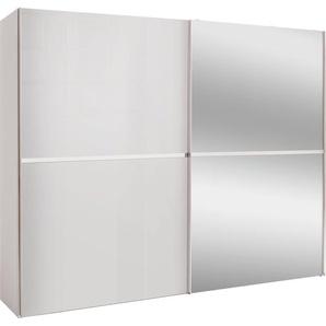 set one by Musterring Schwebetürenschrank dayton mit Glasfront und Spiegel in 3 Breiten