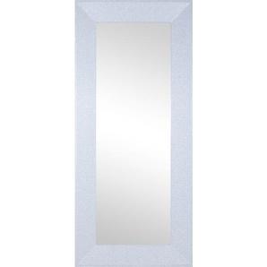 Rahmenspiegel GLITTY I Weiß ca. 80 x 180 cm