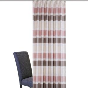 Home Wohnideen Vorhang »NESSE«, H/B 225/140 cm, rosa