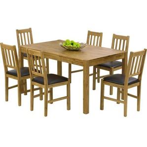 Essgruppe Rory mit 6 Stühlen