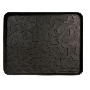 Schuhablage tica copenhagen schwarz, Designer Tina Bremholm, 3x48x38 cm
