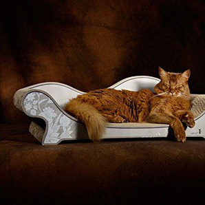 cat-on Le Canapé Plus (AA Farbe: 019b Asia weiße Blumen auf dunklem Beige)