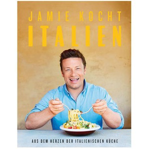 Buch Jamie kocht Italien, L:25,5cm x B:20cm, bunt