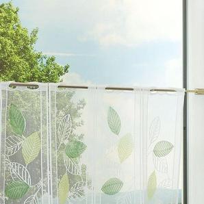 Panneaux von LYSEL® Laubblätter  (Bx H) 225cm * 60cm grün/minzgrün