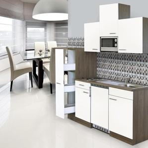 respekta-Economy-Küchenblock - braun - Holz -