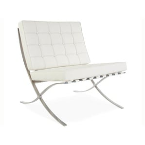 Barcelona Sessel - Weiß