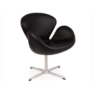 Swan Chair Arne Jacobsen - Schwarz