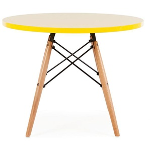 Kinder Tisch Eames - Gelb