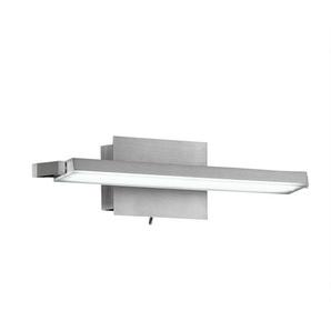 FISCHER & HONSEL verstellbare LED Wandlampe PARE 37 Nickelfarbig