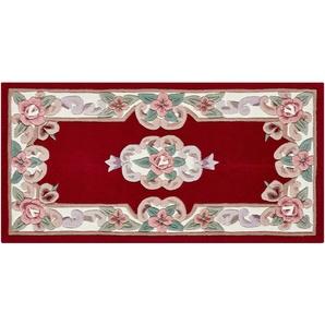 Handtuft-Teppich  Ming ¦ rot ¦ 100 % Polyacryl, Synthethische Fasern ¦ Maße (cm): B: 60 Teppiche  Wohnteppiche » Höffner