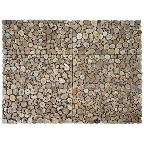 30 cm x 60 cm Mosaikfliesen-Set Frazee aus Holz
