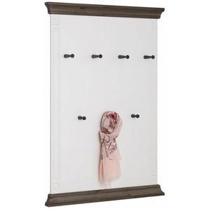 Home affaire Wandpaneel »Vinales«, Höhe 122 cm aus massiver Kiefer, weiß