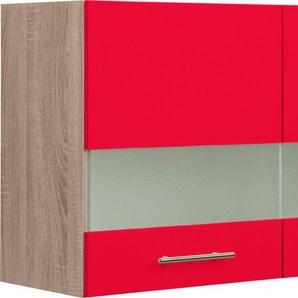 OPTIFIT Glashängeschrank »Korfu«, Breite 100 cm, rot