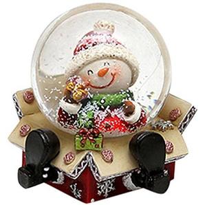 Unbekannt Sigro 3Verschiedene Santa Claus, Rentier, Schneemann Snow Globe, 6,4x 65cm, Mehrfarbig