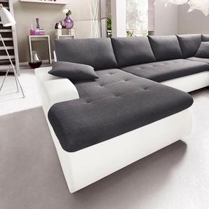 wohnlandschaften in weiss preise qualit t vergleichen m bel 24. Black Bedroom Furniture Sets. Home Design Ideas