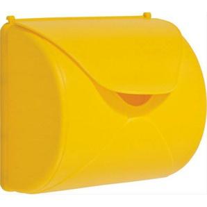 Briefkasten gelb für Kinderspielgeräte